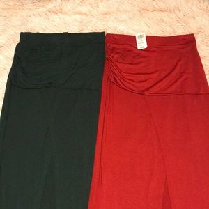 Long sexy slit in the middle skirts for sale !!!